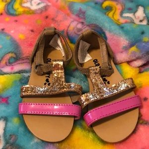 Old navy baby girl sandals size 5